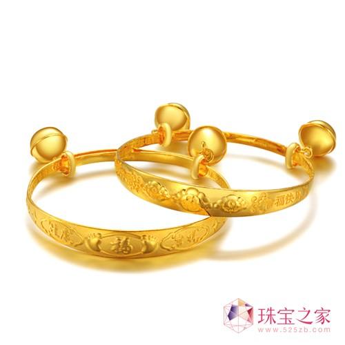 """萃华珠宝推出""""天之骄子""""儿童系列黄金饰品"""