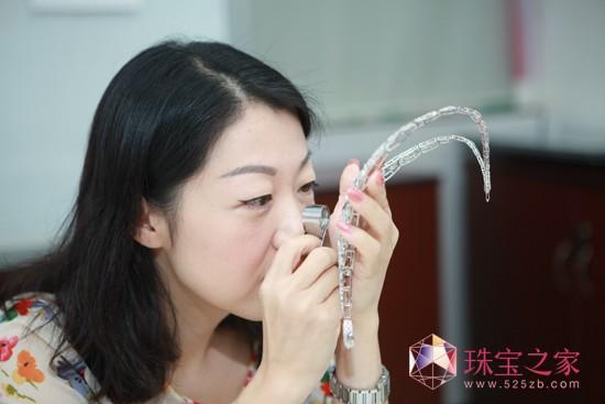 爱迪尔珠宝产品研发总监李蔚高清图片