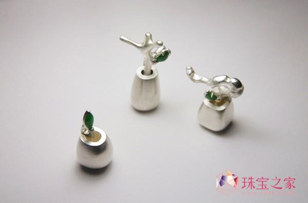 独立珠宝设计师孙常凯设计的《盆景》系列