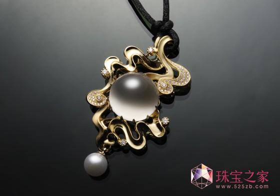 独立珠宝设计师王�j的艺术珠宝定制