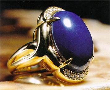 青金石手镯--珠宝投资收藏新宠