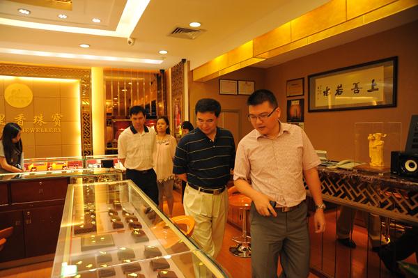 国家文化部领导一行调研深圳水贝珠宝文化产业