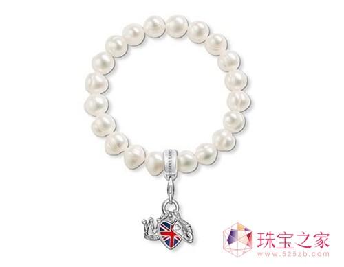 商家打造乔治王子纪念品 珠宝品牌炒作王室商机Thomas Sabo 王室吊坠