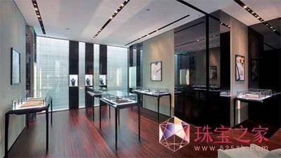 戴比尔斯钻石珠宝揭幕上海环贸iapm精品店