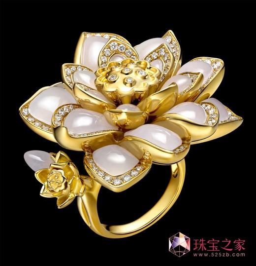 TTF Haute Joaillerie玉莲花系列高级珠宝