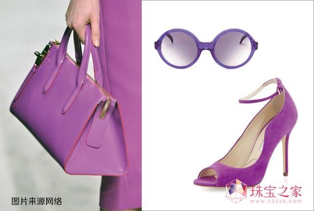 2014春夏流行色之兰花紫 珠宝紫气东来