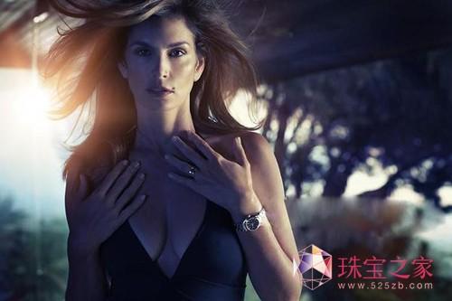 辛迪-克勞馥歐米茄2014春夏腕表廣告大片