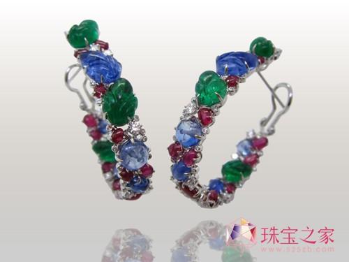 香港珠宝设计师商月芳翡翠设计作品