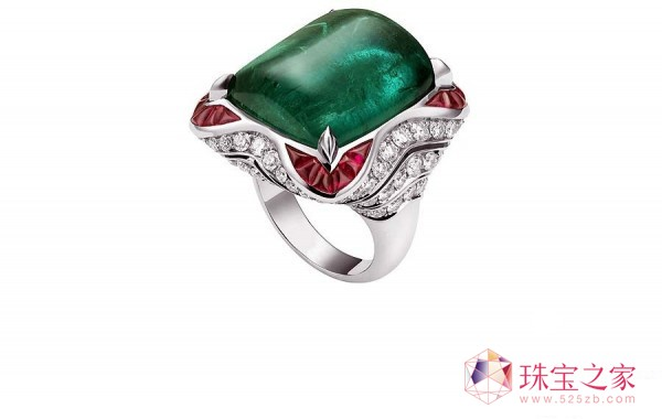 过目难忘的十款高定珠宝戒指