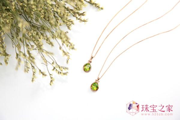 """仙路彩宝作品--""""幸福之石""""橄榄石"""