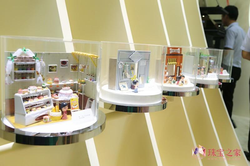 创意亮相2014深圳国际珠宝展图片