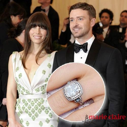 20款令人羡慕的好莱坞明星克拉钻石订婚戒指