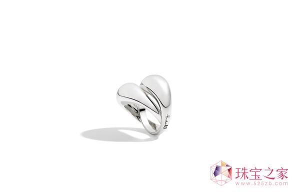 宝曼兰朵Pomellato 67系列银戒指