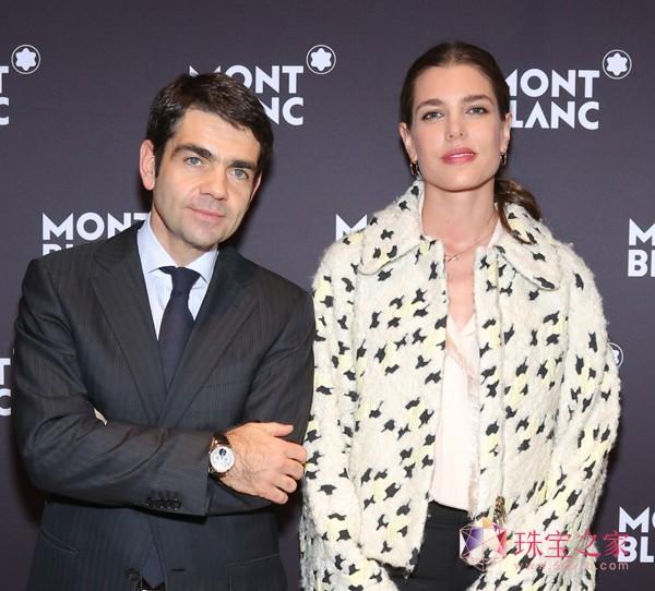 万宝龙国际公司首席执行官朗博杰(Jerome Lambert)先生宣布摩洛哥公主夏洛特 卡西拉吉(Charlotte C