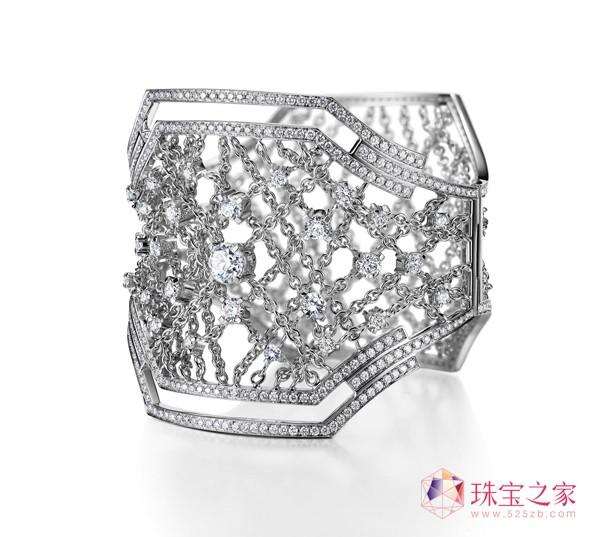 宫(手镯)金伯利钻石2015上海国际珠宝首饰展览会精品亮点前瞻