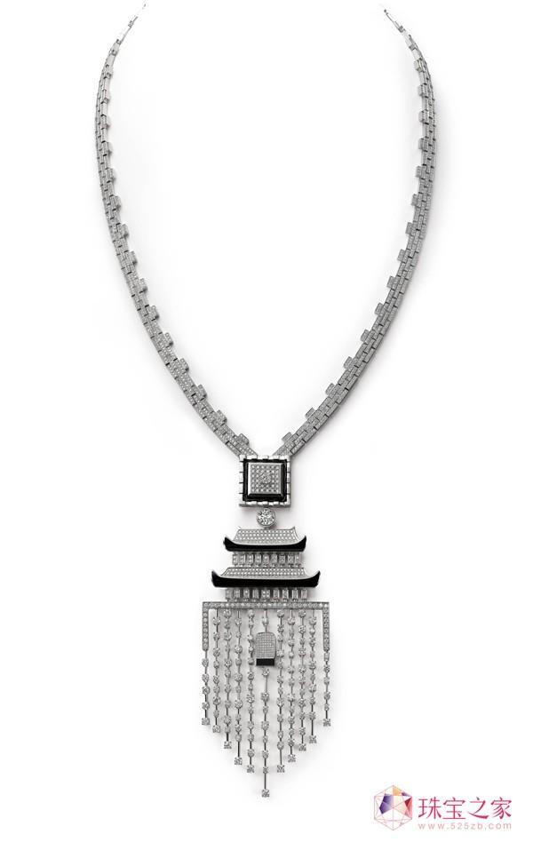 龙脉(长项链)金伯利钻石2015上海国际珠宝首饰展览会精品亮点前瞻