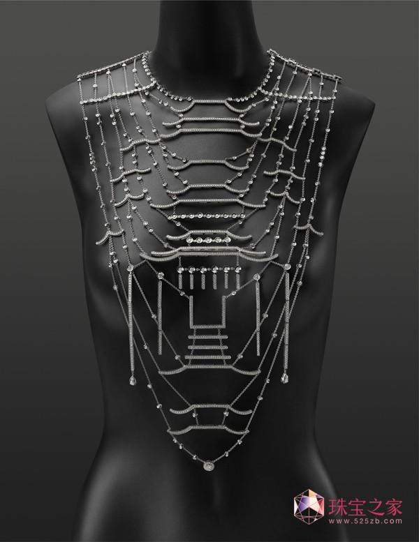 紫禁之巅(长项链)金伯利钻石2015上海国际珠宝首饰展览会精品亮点前瞻