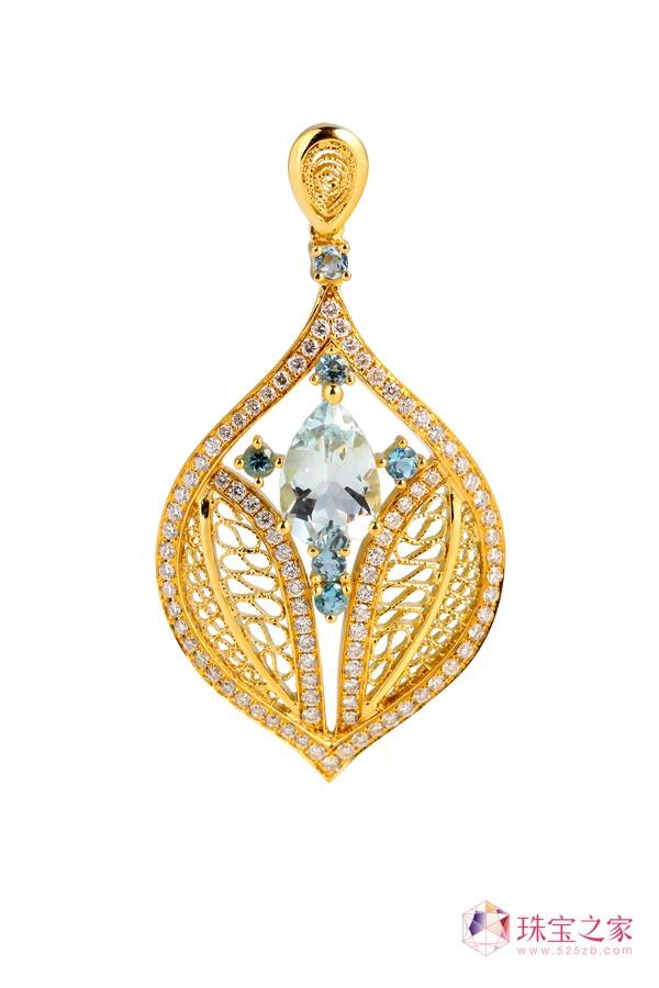 翠绿公司以独创的�钻石花丝工艺�解决了传统花丝首饰的高工费、难以量产等问题。3
