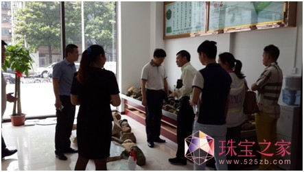 中国•宝谷重磅利好--余福泰国际珠宝广场迎来武汉市文化旅游局考察团参观指导!