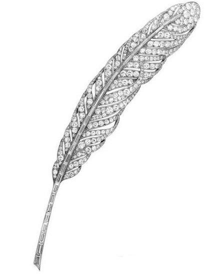 羽毛珠宝 柔美轻盈之姿色