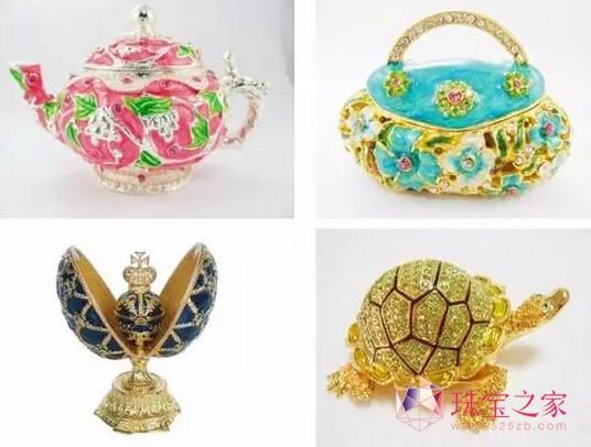 各式创意造型首饰盒-创意珠宝盒妆点你的闺房