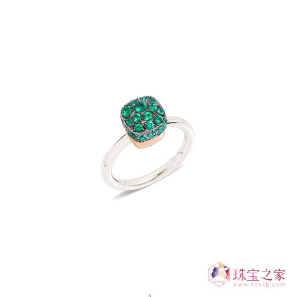 张碧晨佩戴POMELLATO珠宝 亮相时尚颁奖礼白金和玫瑰金镶祖母绿