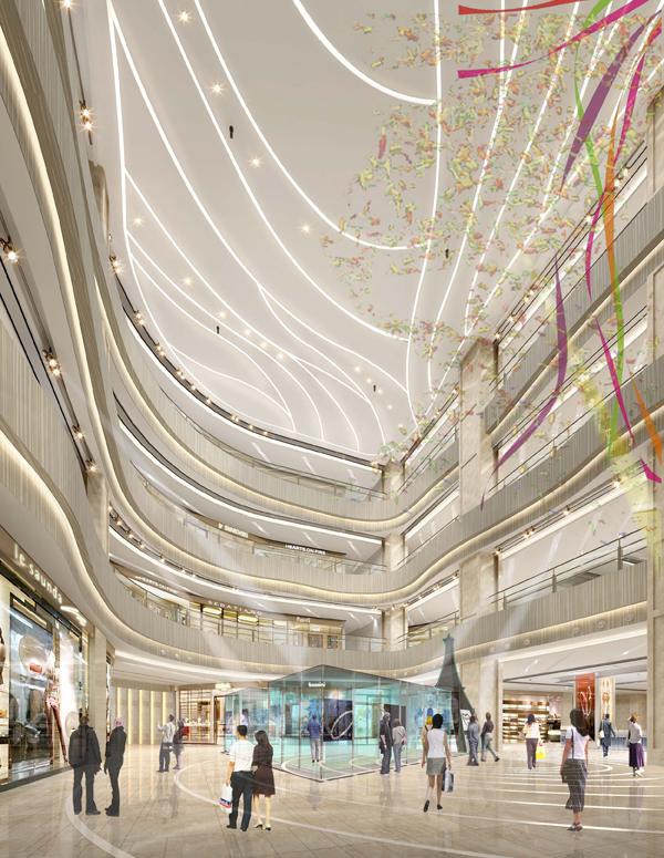中国水贝珠宝项链街区高楼迭起 水贝金座娇美新姿受追捧5
