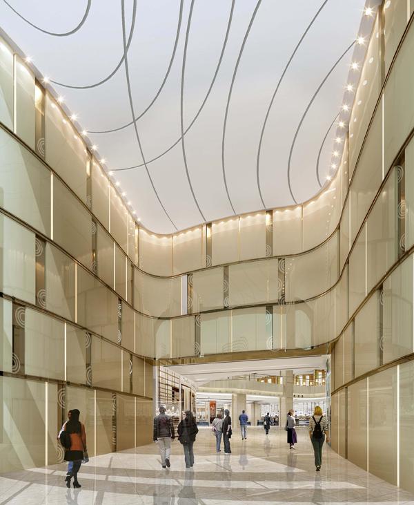 中国水贝珠宝项链街区高楼迭起 水贝金座娇美新姿受追捧6