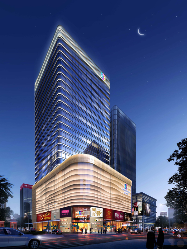 中国水贝珠宝项链街区高楼迭起 水贝金座娇美新姿受追捧2
