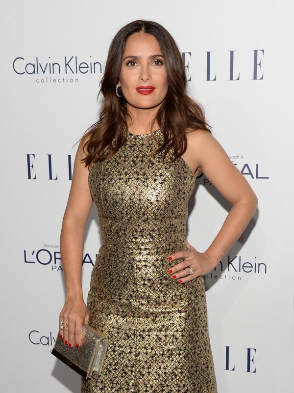 萨尔玛・海耶克佩戴POMELLATO珠宝 获颁第22届好莱坞女性贡献奖