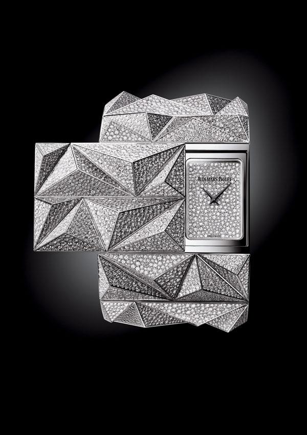 爱彼高级珠宝腕表钻石朋克DIAMOND PUNK问鼎2015年日内瓦高级钟表大赏