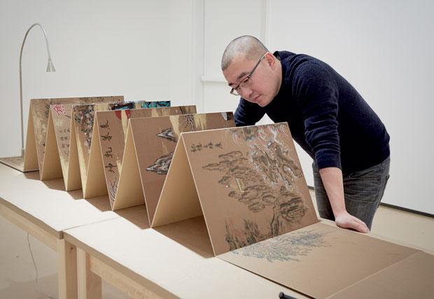 孙逊获选为2016年爱彼艺术创作委托计划艺术家