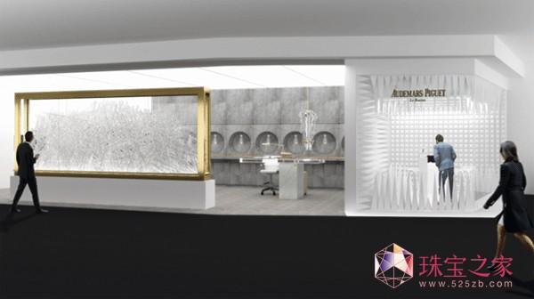 爱彼2016巴塞尔艺术展香港站 惊艳展厅解密时间流逝