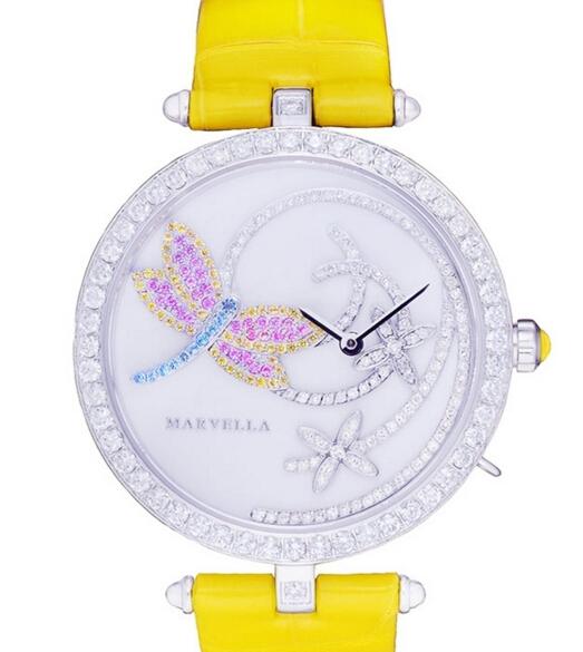 法国创意腕表珠宝品牌Marvella推出四季系列钻石女表