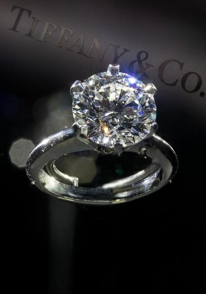 全新The Tiffany® Setting蒂芙尼六爪镶嵌玫瑰金钻戒