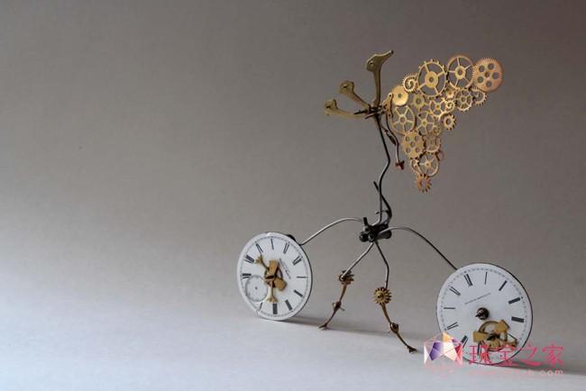 「振翼Flutterings」以色列首饰艺术家诺阿·娜蒂尔(Noa Nadir)艺术首饰作品个U乐娱乐官网