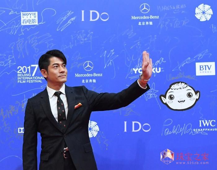 郭富城亮相北京国际电影节开幕红毯