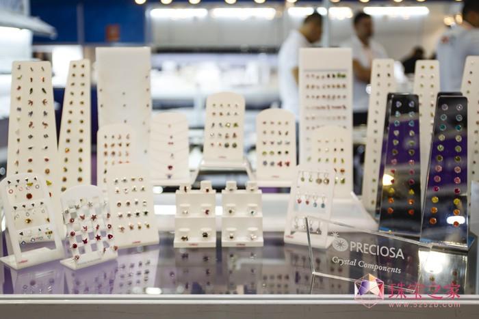 宝仕奥莎水晶配件闪耀亮相香港国际珠宝展