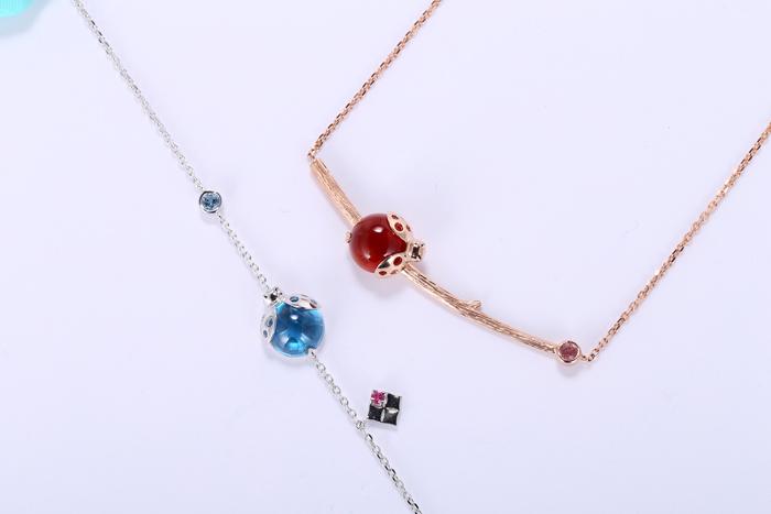 夏装美搭:晶石灵宝石幸运星欧洲风系列