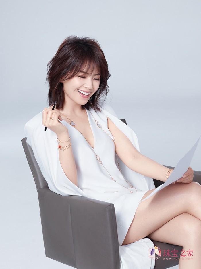 欢乐颂歌 萧邦中国区品牌挚友刘涛倾情演绎Happy Diamonds系列