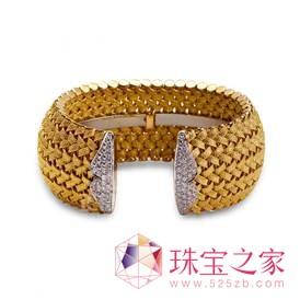 MARCHISIO 1859空心的金丝花边工艺项链和手链等黄金首饰,是世界诸多知名珠宝品牌的供应商
