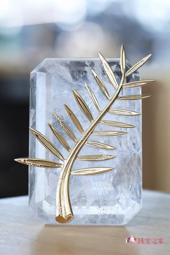 庆戛纳电影节70周年:金棕榈奖座U乐娱乐官网以璀璨钻石 闪耀独特光彩