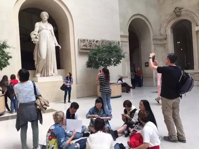 艺游法兰西卢浮宫课堂