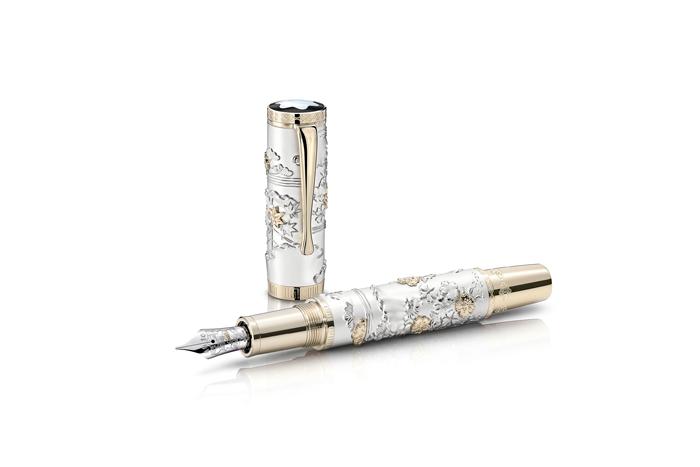 万宝龙推出全新限量版书写工具 礼赞日本古典和风艺术