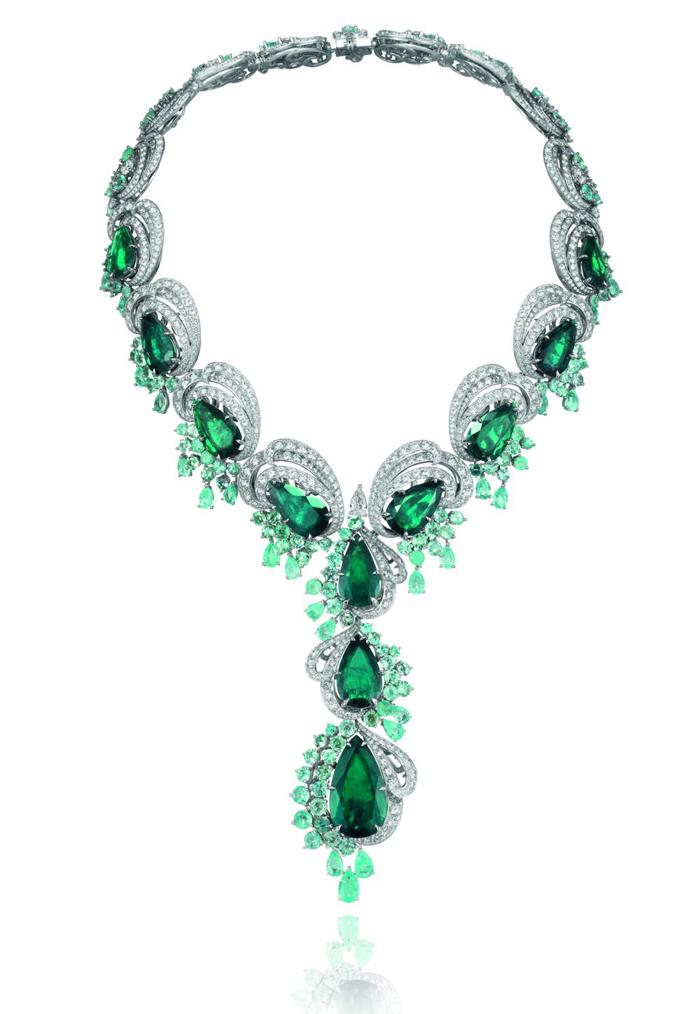 高级珠宝与高级定制时装的梦幻邂逅 Chopard萧邦Silk Road系列