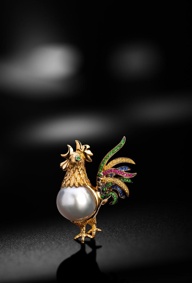 珠宝设计师代波军与珠宝孤品