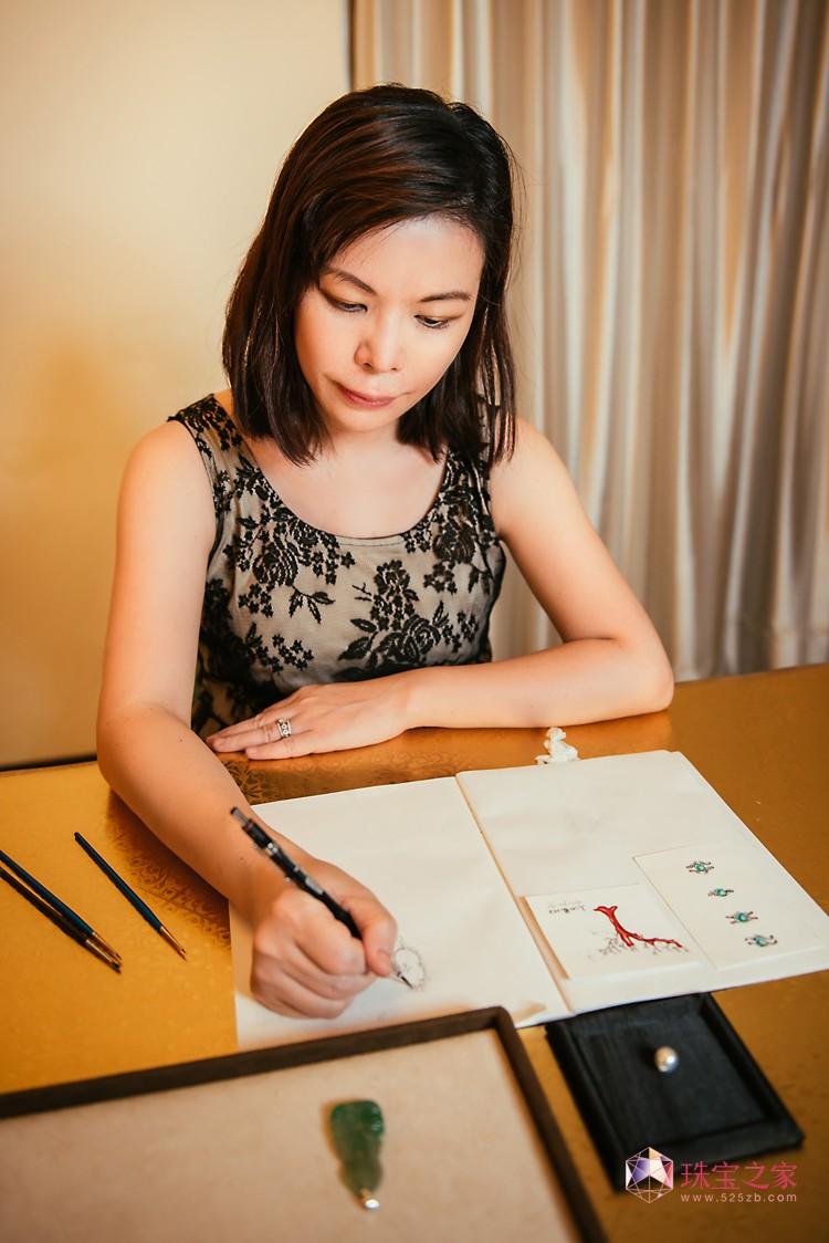 台湾珠宝设计师-高沁岚,珠宝设计美学 台湾文化 王尊 高沁岚 台湾意象