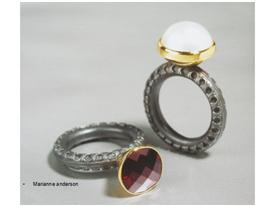 倪献鸥 珠宝设计美学,英国亚洲城ca272Marianne anderson作品,银,金,宝