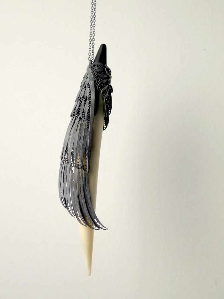 郭新 珠宝设计美学 艺术 文化 精神 工艺 人性 天使之翼 花丝