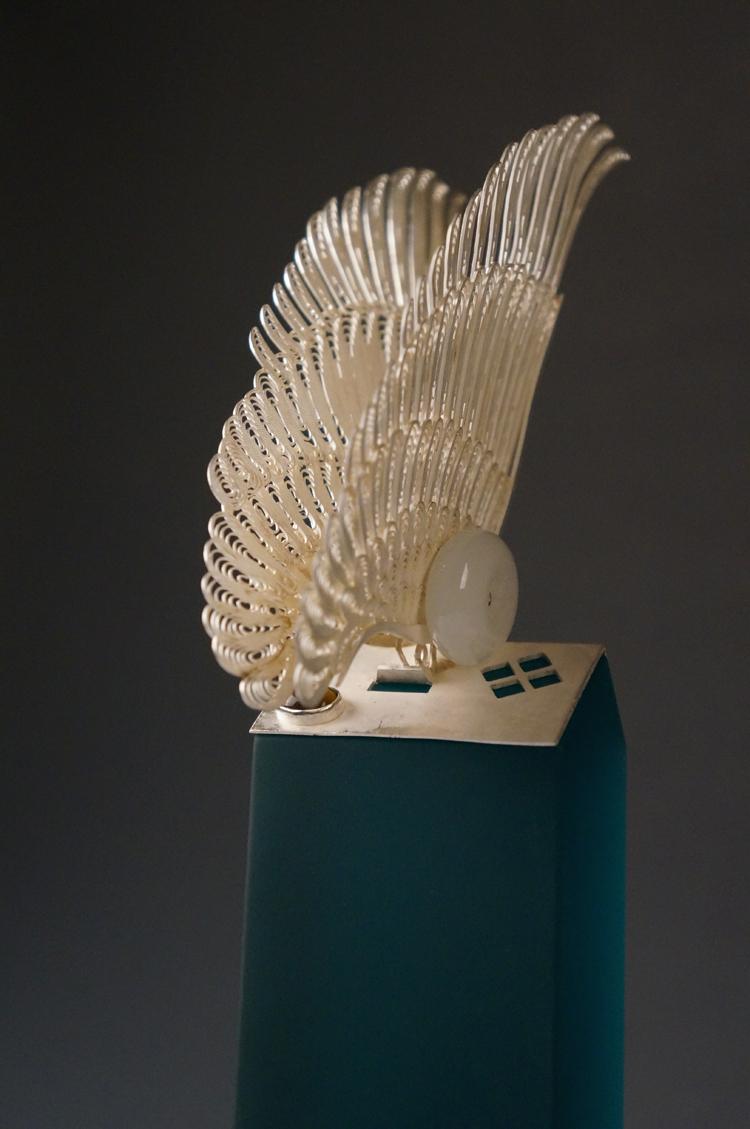 """设计美学--""""天使之翼""""的诞生之路""""家园的守护者"""" 小型雕塑"""